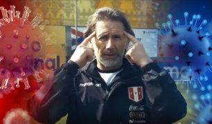 Ricardo Gareca busca hacer reflexionar a los hinchas peruanos con vídeo