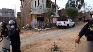 Huancayo: hallan enterrado el cuerpo de un menor en el jardín de una vivienda