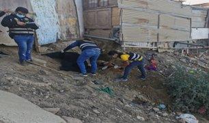 Piura: mujer es hallada sin vida y enterrada en terreno baldío