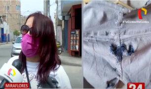 Miraflores: atacan con ácido a ciudadana extranjera