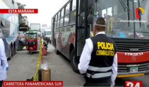 SJM: tres pasajeros y un policía resultaron heridos durante asalto a bus de transporte público