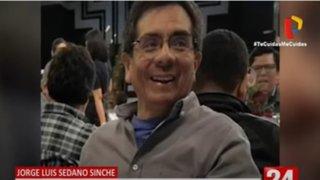 Panamericana Tv lamenta pérdida de trabajador Jorge Luis Sedano