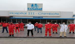 Áncash: EsSalud realiza pruebas a bomberos para descartar COVID-19