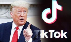 TikTok se enfrenta legalmente a Donald Trump tras ser vetada