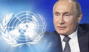 Vladimir Putin propone cumbre para evitar confrontación en la ONU sobre Irán