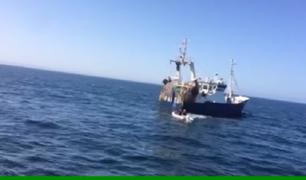 Tumbes: ecuatorianos escapan de intervención tras pescar en mar peruano