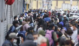 Perú supera el medio millón de contagiados por coronavirus, según el Minsa