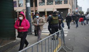 Cercado de Lima: aglomeraciones a un día de la inmovilización total