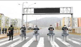 Lima Este: imponen más de 180 multas por incumplir inmovilización social obligatoria