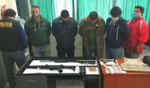 Callao: capturan banda dedicada a la extorsión, tráfico de terrenos y sicariato