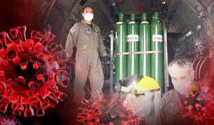 Puno recibe 100 balones de oxígeno que serán distribuidos a distintos hospitales