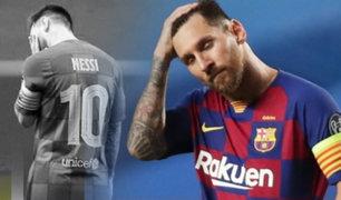 Todo tiene su final: Lionel Messi comunicó al Barcelona que no seguirá