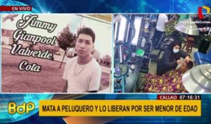 Callao: denuncian que fiscal liberó a sicario que confesó asesinato de joven barbero