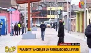 Chorrillos: recuperan 'La Paradita' que estaba tomada por ambulantes
