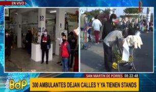 Caquetá: casi 300 ambulantes dejaron las calles y se convirtieron en formales