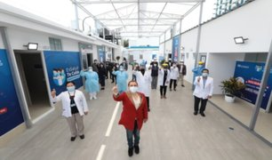 EsSalud inauguró nuevos ambientes en Hospital Alcántara