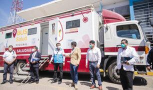 Arequipa: 'Bus anticovid' recorrerá diversas localidades para aplicar pruebas rápidas
