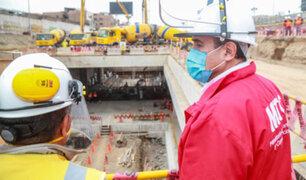 Metro de Lima: reinicio de obras de la Línea 2 reactivó 12,000 empleos