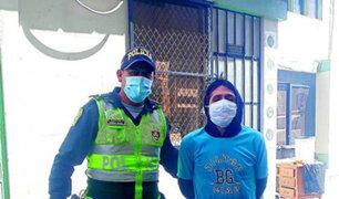 Huancayo: capturan sujeto que atacó con un desarmador a pareja e hija de dos años
