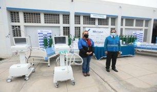 COVID-19 en Tacna: presidenta de EsSalud llegó con equipos para reforzar lucha
