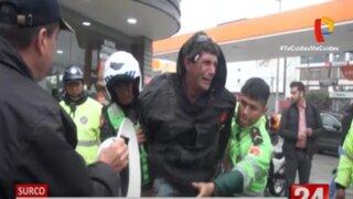 Surco: Detienen a hombre por robo de bicicleta