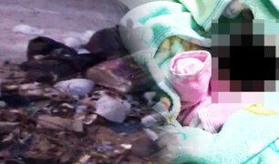 Chiclayo: mujer abandona a su bebé en un basural
