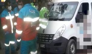 Piura: asalto a minivan de pasajeros deja dos muertos