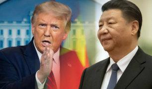 Donald Trump cancela las conversaciones comerciales con China por la pandemia