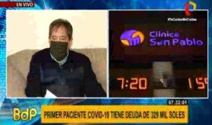 Clínica San Pablo: primer paciente ingresado por COVID-19 debe 329 mil soles