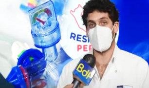 Respira Perú trae mil respiradores de un solo uso para hospitales del país