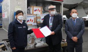 Covid-19: Rusia dona 50 mil pruebas moleculares para detección del coronavirus