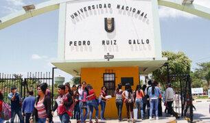 Universidad Pedro Ruiz Gallo: Sunedu le niega licenciamiento institucional y deberán cerrar