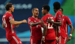 Champions League: Bayern vence 3-0 al Lyon y disputará la final ante el PSG