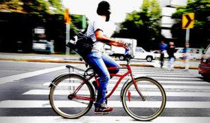 Ciclistas podrían ser multados por infracciones a partir de junio 2021