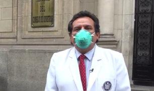 Federación Médica Peruana sobre paro: Medida se toma por incumplimiento del Gobierno