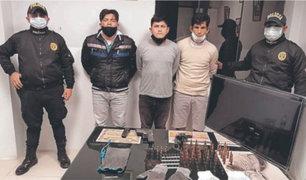 """Capturan a """"Las Hienas de la Frontera"""" por asalto a fundo en Lambayeque"""