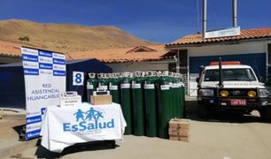 Huancavelica: EsSalud enviará 70 balones de oxígeno para enfrentar la COVID-19