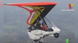San Bartolo: Desaparece ala delta motorizada con tripulantes extranjeros