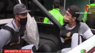Detienen a dos extranjeros ilegales implicados en ataque con bomba molotov a bodega en SMP