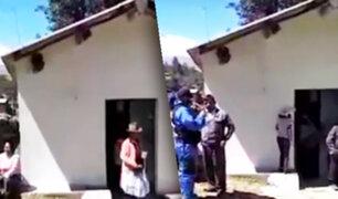 Huaraz: intervienen iglesia evangélica por aglomeración de personas