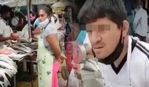 Tumbes: comerciantes toman la vía pública generando aglomeración y caos