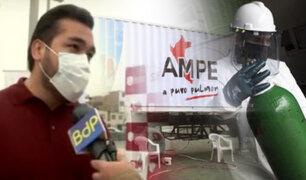 SJM: oxígeno gratis llega a complejo deportivo del IPD