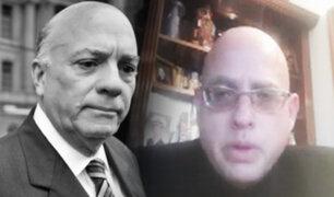 Caso 'Petroaudios': Hijo de Rómulo León asegura que su padre se encuentra en grave estado