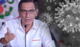 """Martín Vizcarra: """"Lo grave es que niños y adolescentes llevan el virus a casa, y es ahí lo peligroso"""""""