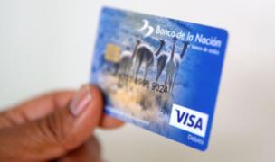 Tarjetas vencidas del Banco de la Nación extenderán su vigencia hasta fines de mayo