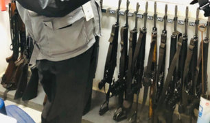 Incautan 35 armas y más de 4 mil municiones a empresa de seguridad
