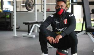 Christian Cueva continúa entrenando en Videna previo a su viaje a Turquía