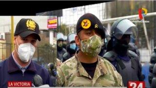 La Victoria: Incorporan 1300 reservistas del Ejército para combatir inseguridad y comercio ambulatorio