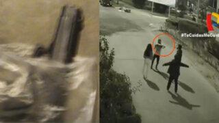 San Luis: Con arma de juguete, joven delincuente asalta a madre y sus hijos