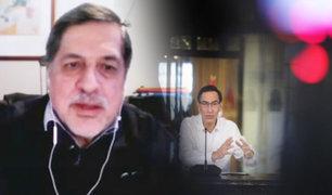 """Dr. Ernesto Bustamante: """"En mensaje presidencial se ha hablado de humo"""""""
